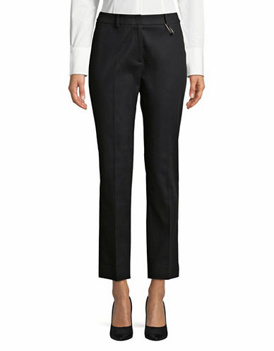 Weekend Max Mara Augusta Crop Pants-BLACK-EUR 50/US 16