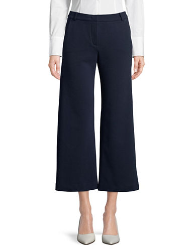 Weekend Max Mara Tiberio Wide-Leg Pants-NAVY-Large