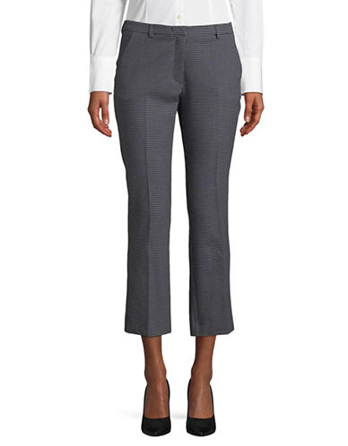 Weekend Max Mara Grecia Cropped Pants-ULTRAMARINE-EUR 48/US 14