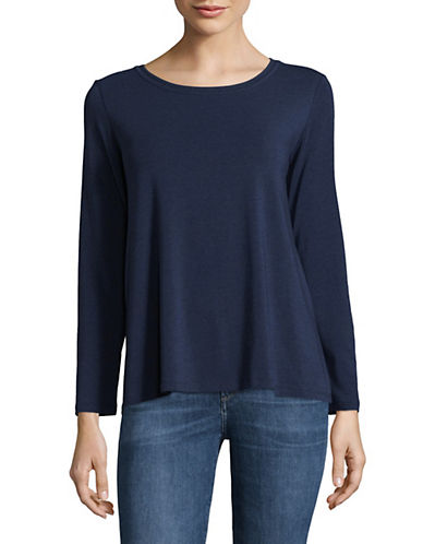 Weekend Max Mara Long Sleeve Knit Top-ULTRAMARIN-Large