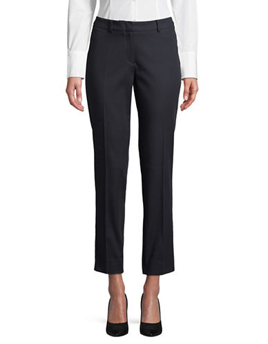 Weekend Max Mara Augusta Crop Pants-NAVY-EUR 44/US 10