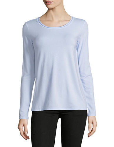 Weekend Max Mara Long Sleeve Knit Top-ICE-Medium