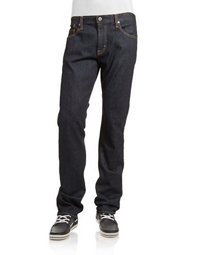 Ag Jeans The Graduate Tailored Leg Jeans-JAK DARK BLUE-34