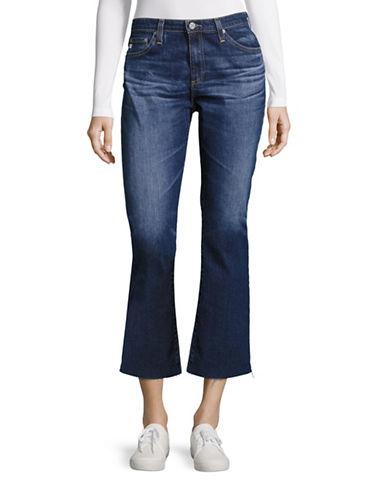 Ag Jeans Jodi Slim-Fit Crop Jeans-BLUE-30