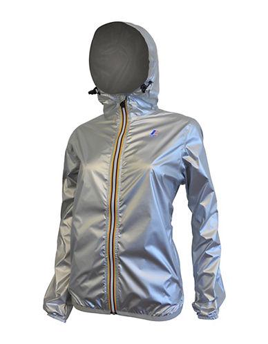K-Way Claudette 3.0 Jacket-SILVER-Large 88246973_SILVER_Large