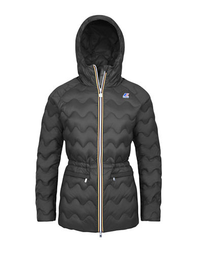 K-Way Coralie Light Thermo Quilted Slim-Fit Jacket-GREY SMOKE-Small 88584009_GREY SMOKE_Small