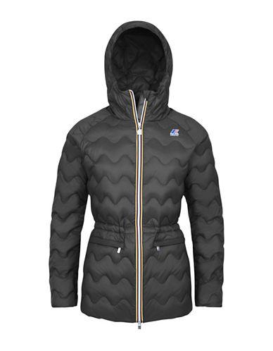 K-Way Coralie Light Thermo Quilted Slim-Fit Jacket-GREY SMOKE-Large 88584011_GREY SMOKE_Large