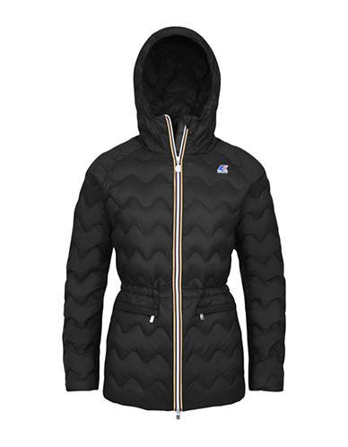 K-Way Coralie Light Thermo Quilted Slim-Fit Jacket-BLACK-Medium 88584005_BLACK_Medium