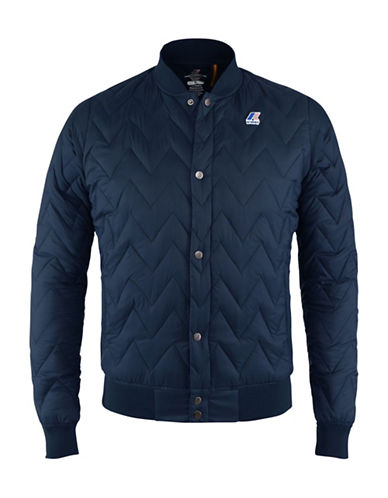 K-Way Louis Light Thermo Quilted Bomber Jacket-DEPTH-Small 88583999_DEPTH_Small