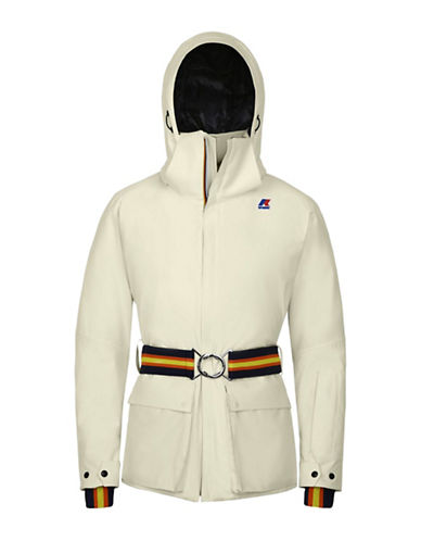 K-Way Giselle Micro Twill Hoodie-WHITE-Medium 88676654_WHITE_Medium