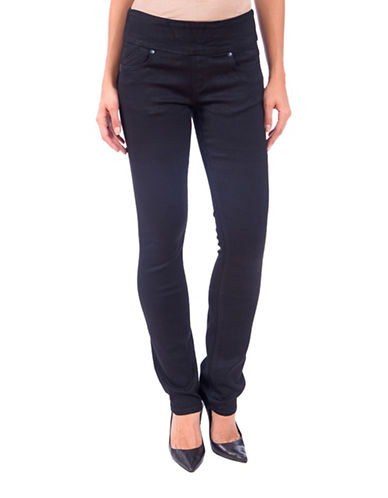 Lola Jeans Catherine Pull-On Jeans-BLACK-28