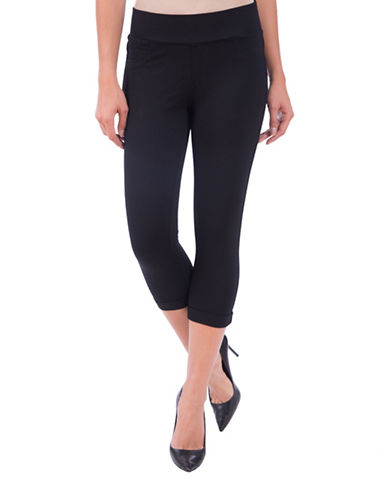 Lola Jeans Michelle Capri Leggings-BLACK-X-Small 89075962_BLACK_X-Small