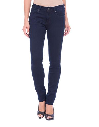 Lola Jeans Kristine Mid-Rise Straight Jeans-BLUE-29