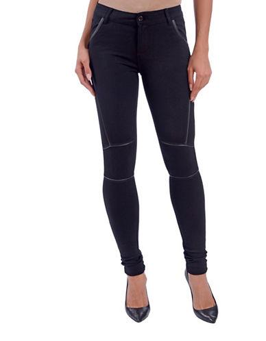 Lola Jeans Gisele Skinny Jeggings-BLACK-27