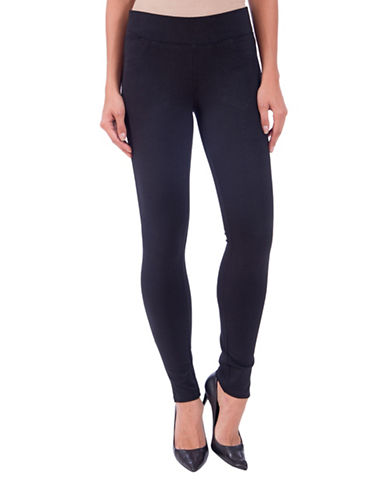 Lola Jeans Anna Pull-On Leggings-BLACK-Small