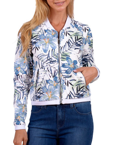 Lola Jeans Lucy Bomber Jacket-GREEN-Large
