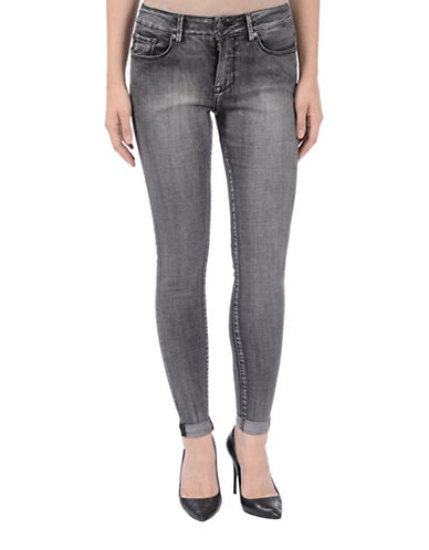 Lola Jeans Blair Ankle Jeans-CHARCOAL-26