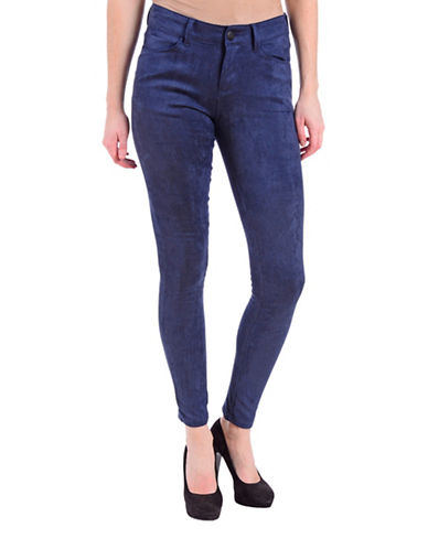 Lola Jeans Isabel Mid-Rise Skinny Jeans-SUEDE INK BLUE-29