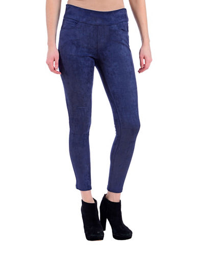 Lola Jeans Janice Slim-Fit Mid-Rise Ankle Jeans-SUEDE INK BLUE-X-Small