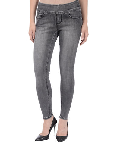 Lola Jeans Julia Ankle Jeans-CHARCOAL-26