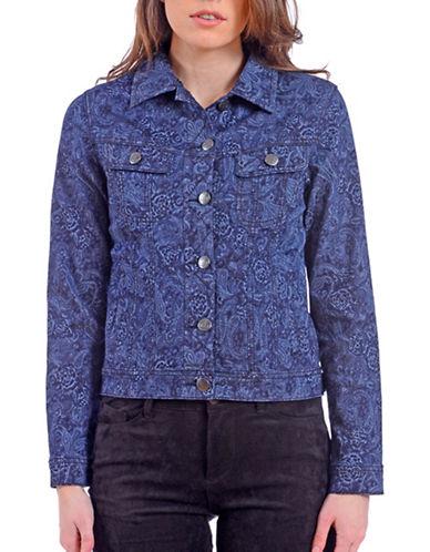 Lola Jeans Paisley Cropped Jacket-PAISLEY-XX-Large