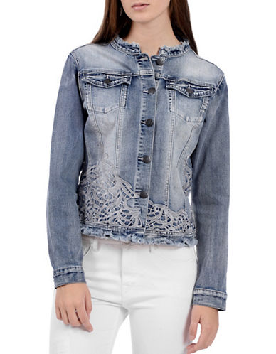 Lola Jeans Bluebell Denim Jacket-BLUE-X-Small