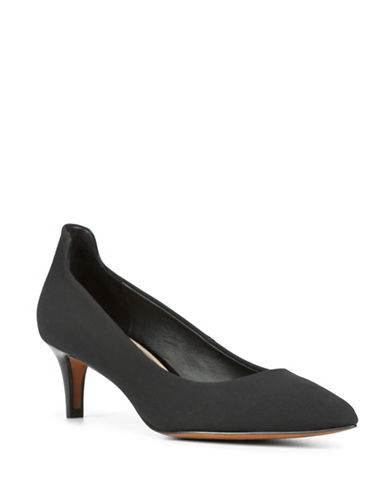 Donald J. Pliner Bari Slip-On Pumps-BLACK-8