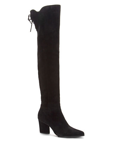 Donald J. Pliner Leore Over-the-Knee Boots-BLACK-7