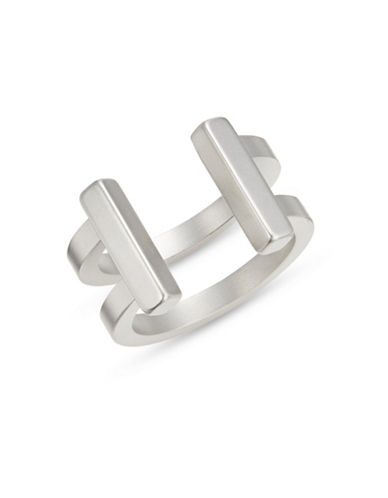 Atelic Silvertone T Ring-SILVER-11