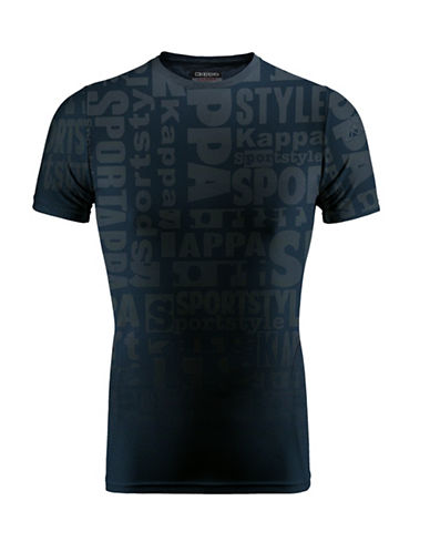 Kappa Slim-Fit Training Tee-BLUE-Small