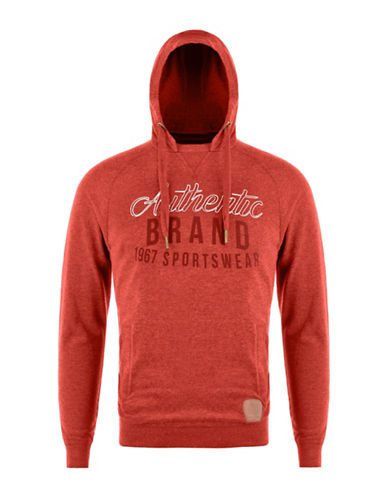 Kappa Slim-Fit Branded Hoodie-ORANGE-X-Large 88322563_ORANGE_X-Large