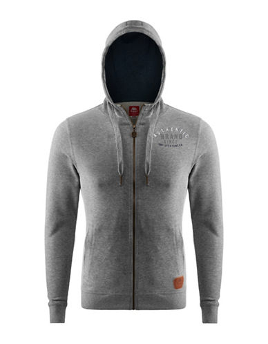 Kappa Athletic Hooded Sweatshirt-GREY-Medium 88322571_GREY_Medium