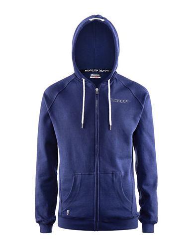 Kappa Slim Fit Hoodie-BLUE-X-Large 88866682_BLUE_X-Large