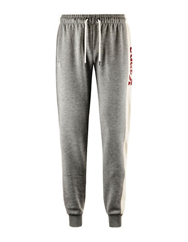Kappa Zainan Slim-Fit Fleece Joggers-GREY-Medium 88866640_GREY_Medium
