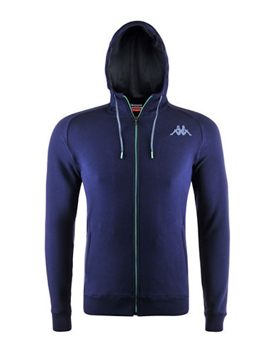 Kappa Komabt Wuyen Training Fleece Jacket-BLUE-Large 88322587_BLUE_Large
