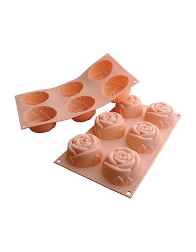 Silikomart Silicone Medium Rose Cake Moulds-PEACH-One Size