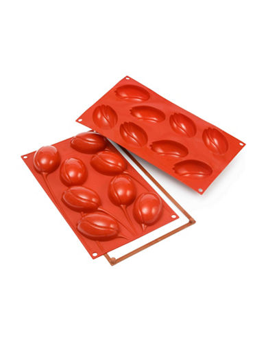 Silikomart Silicone Tulip Cake Moulds-CORAL-One Size