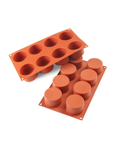 Silikomart Silicone Cylinders Mould-TERRACOTTA-One Size