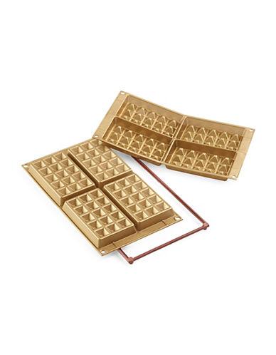 Silikomart Silicone Waffle Cakes Moulds-GOLD-One Size