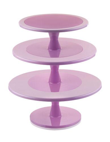 Silikomart Hula Up Three-Tier Cake Stand-PINK-One Size
