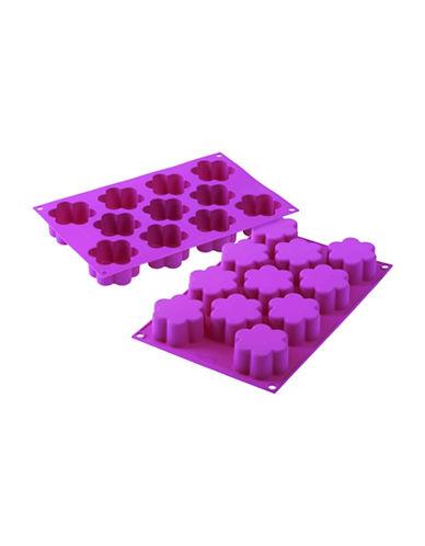 Silikomart Silicone Flower Cake Moulds-PINK-One Size