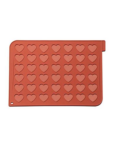 Silikomart Silicone Heart Macaron Mat-TERRACOTTA-One Size
