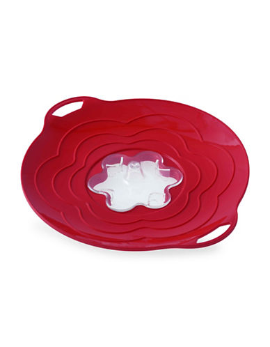 Silikomart Silicone 12-Inch Steam Cooker Lid-RED-One Size