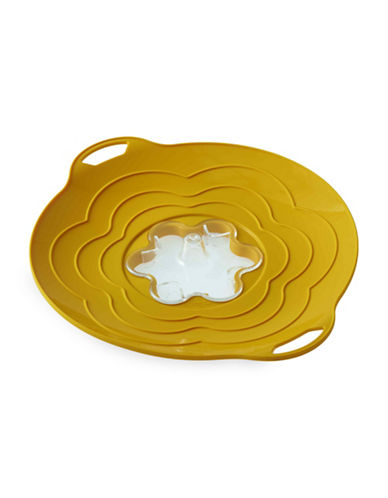 Silikomart Silicone 12-Inch Steam Cooker Lid-YELLOW-One Size