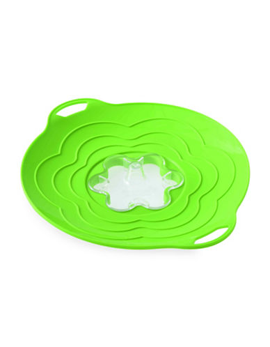Silikomart Silicone Nine-Inch Steam Cooker Lid-GREEN-One Size