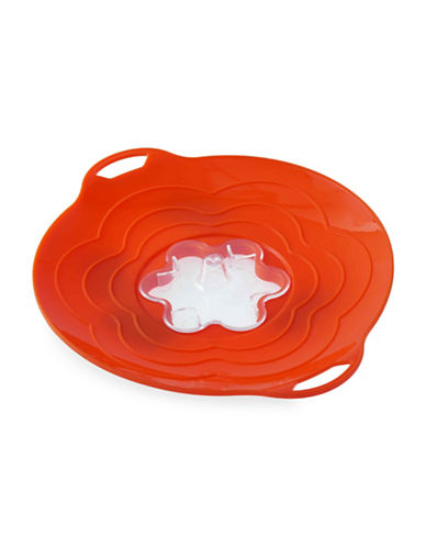 Silikomart Silicone Nine-Inch Steam Cooker Lid-CORAL-One Size