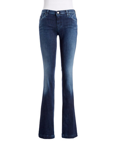 ARMANI JEANS Regular Fit Boot Cut Jeans blue Size 26