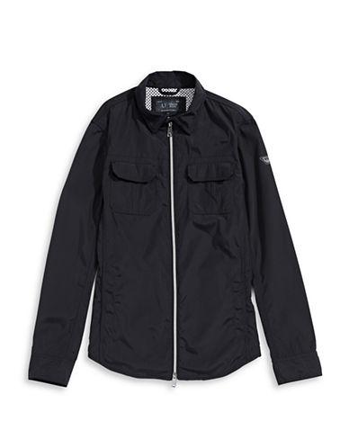 Armani Jeans Shirt-Style Jacket-BLUE-Small 88374782_BLUE_Small
