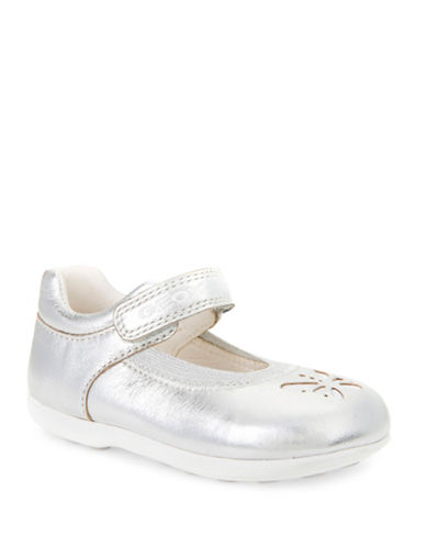 Geox B Jodie B Mary Jane Shoes-SILVER-10
