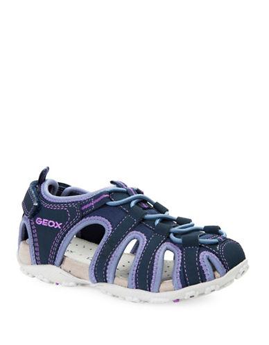 Geox J S. Roxanne C Sneaker Sandals-BLUE-12